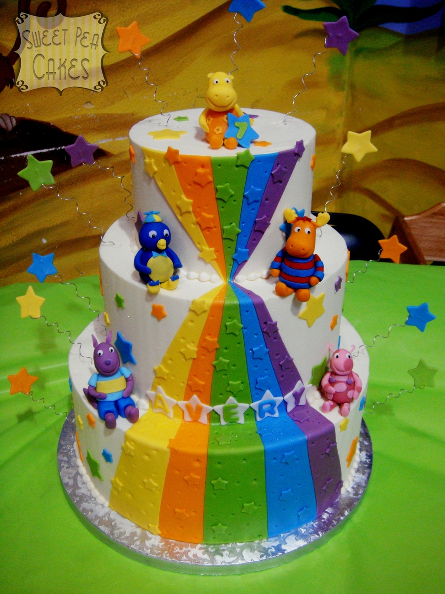Backyardigans 1St Birthday on Cake Central