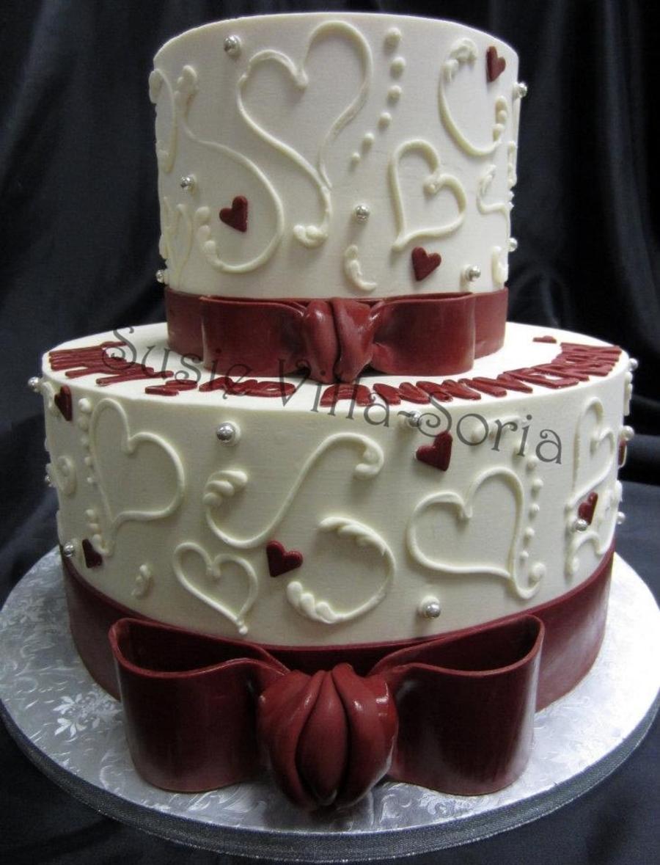 2nd Anniversary Cake Cakecentralcom