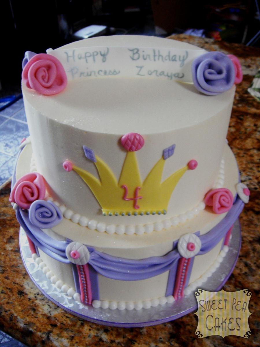Princess Birthday Cake Cakecentral