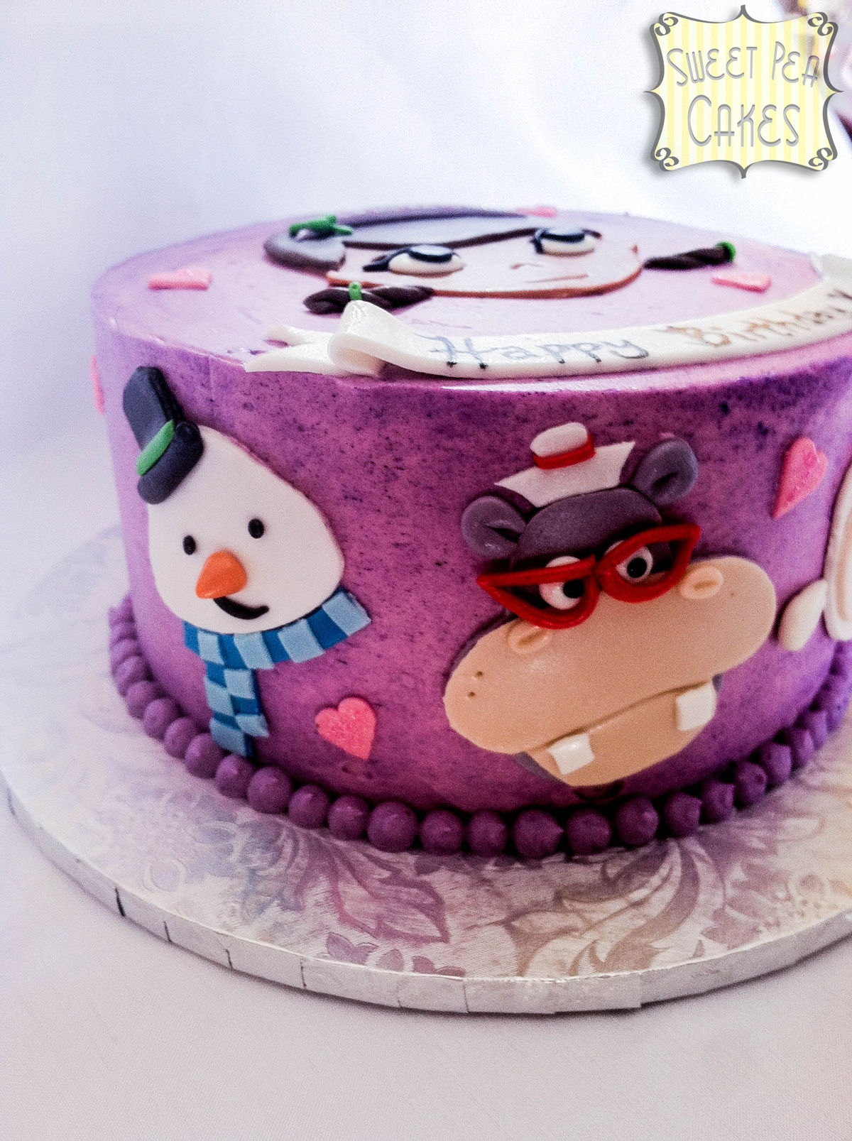 Stupendous Doc Mcstuffins Birthday Cake Cakecentral Com Funny Birthday Cards Online Eattedamsfinfo