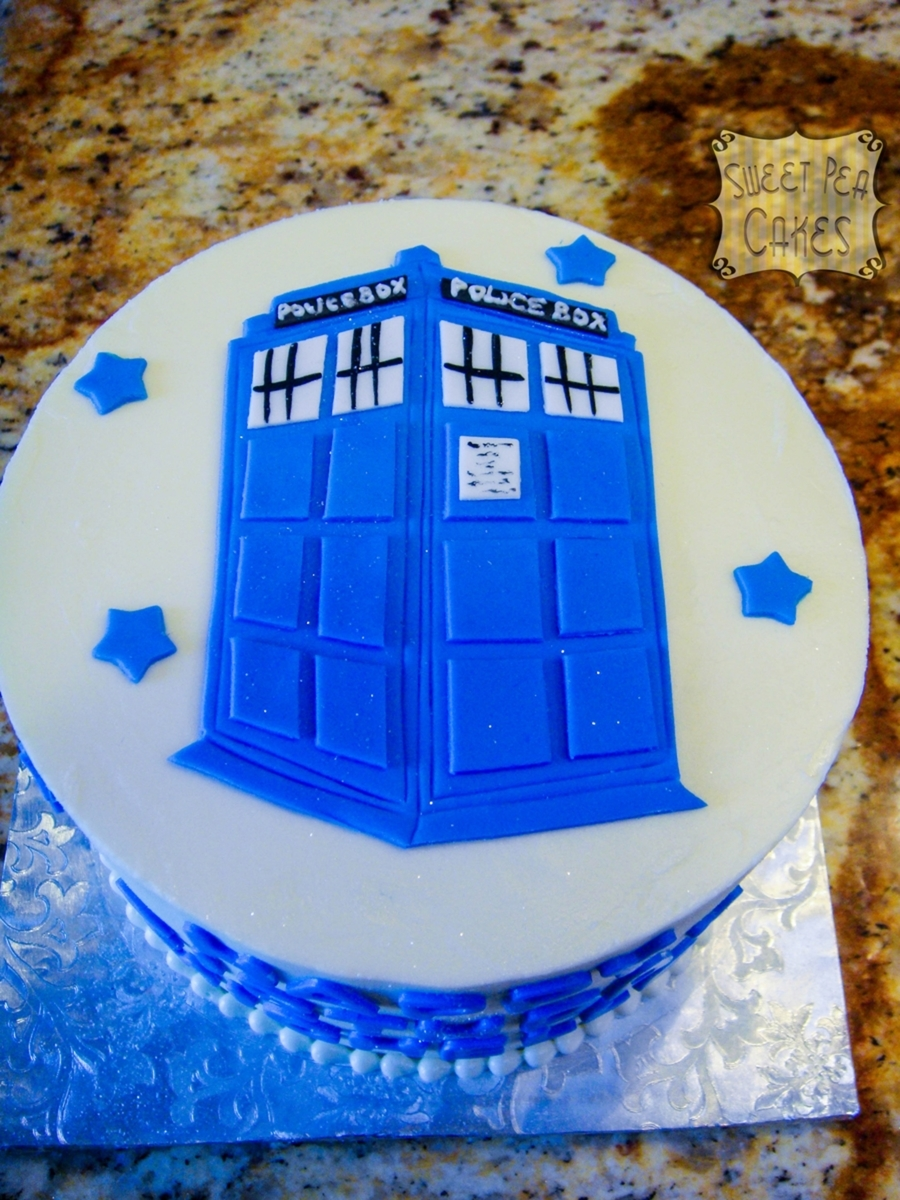 Dr. Who Birthday on Cake Central