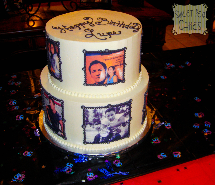 Springsteen 50Th Birthday on Cake Central