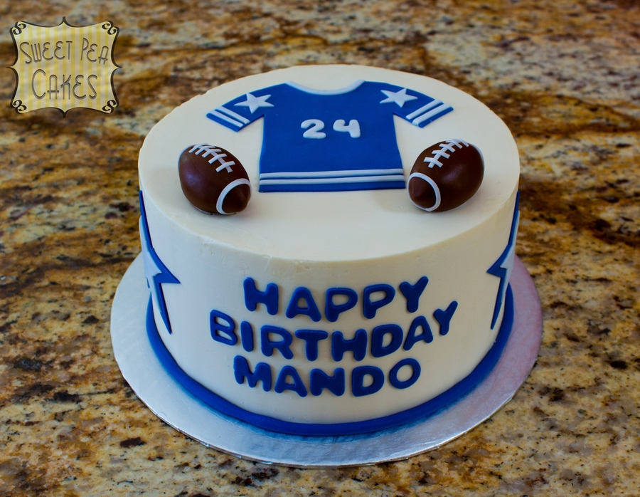 Football Birthday Cake on Cake Central
