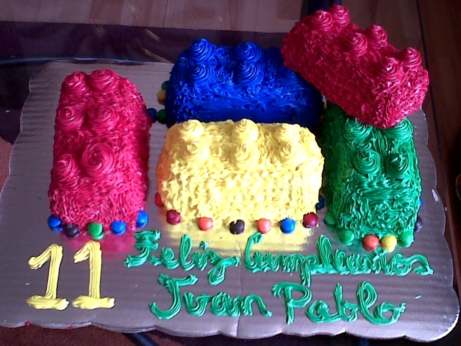 Lego Pices Cake on Cake Central