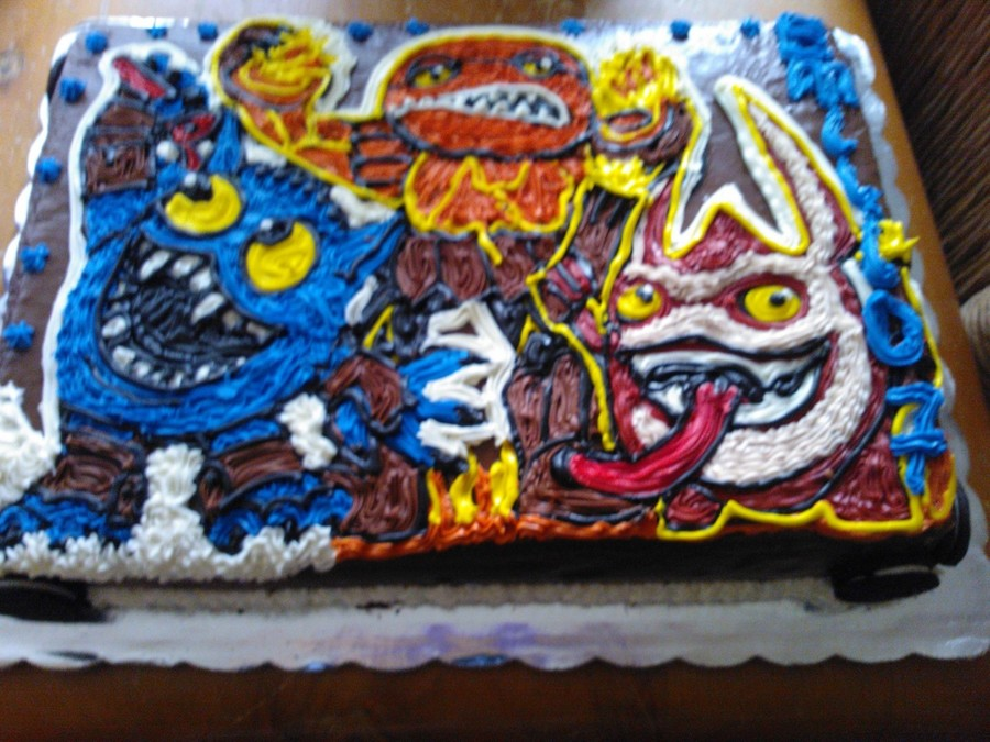 Skylander Giants Cake on Cake Central
