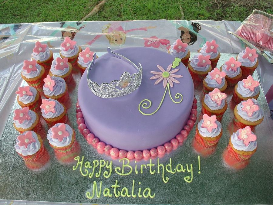 Barbie Perennia Birthday Cake on Cake Central