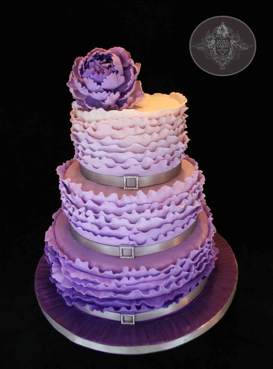 Plum Purple Birthday Cake Ideas