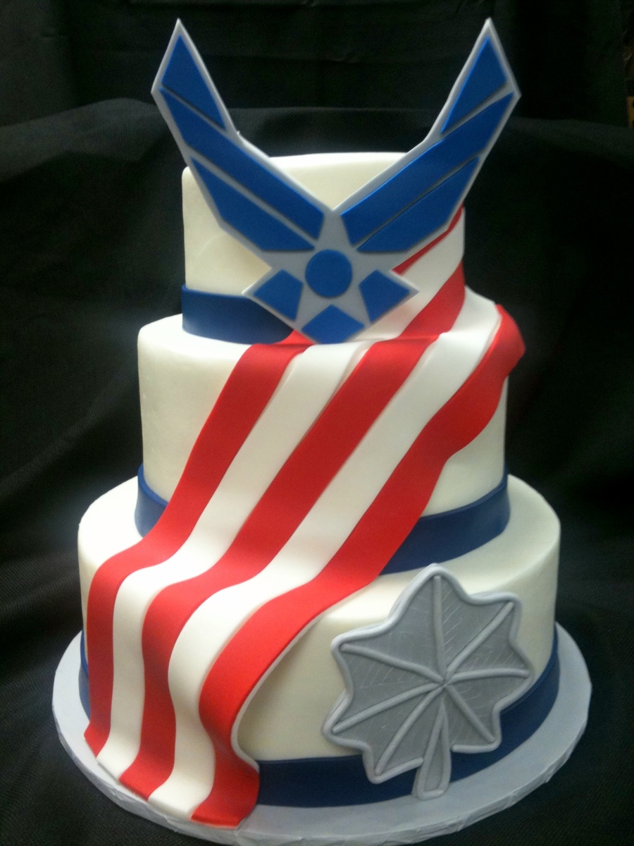 Air Force Promotion Cake Ideas