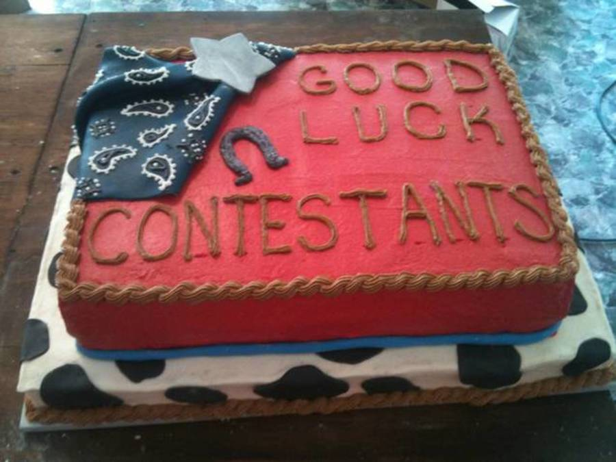 Rodeo Finals on Cake Central