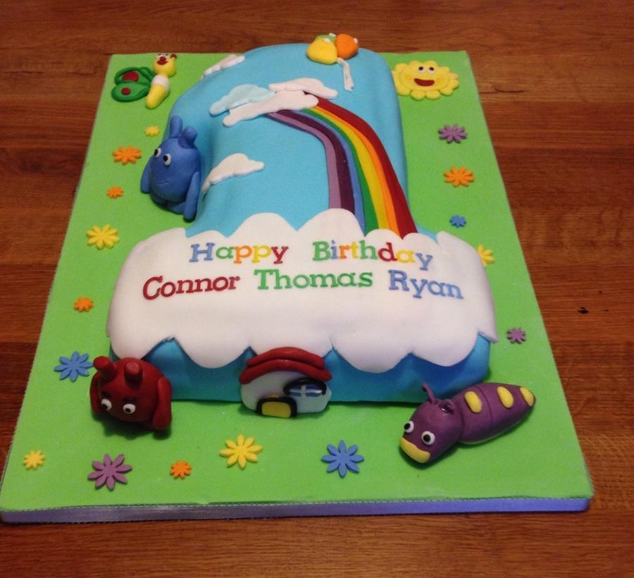 Baby Tv 1st Birthday Cake Cakecentral