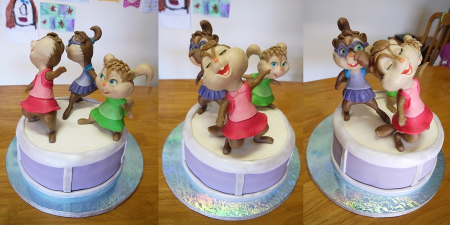 Chipettes Cake on Cake Central