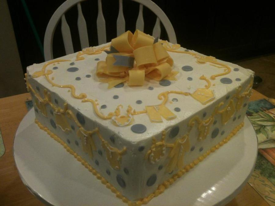 So Pleased With The Way The Corners Came Out On This One on Cake Central