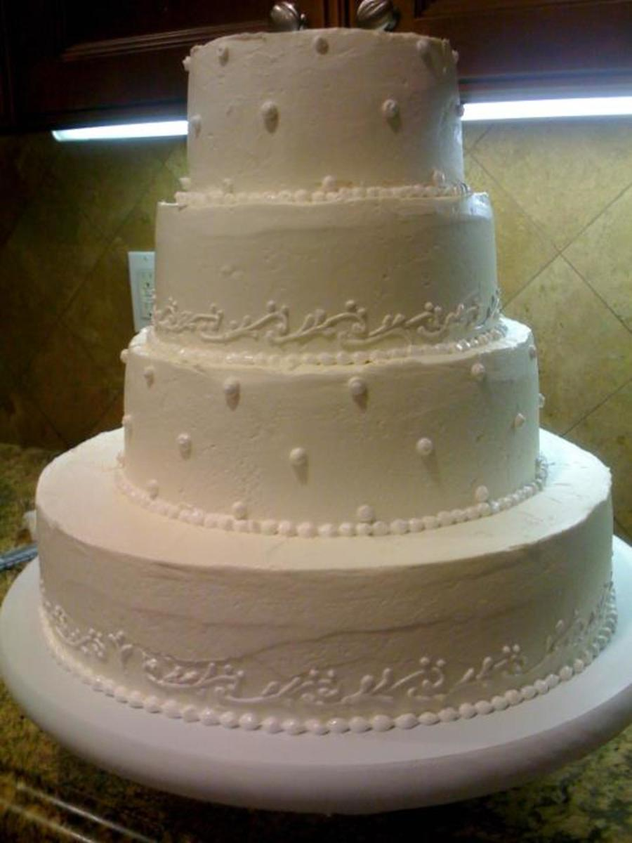 Wedding Cheesecake With Imbc 161086  on Cake Central