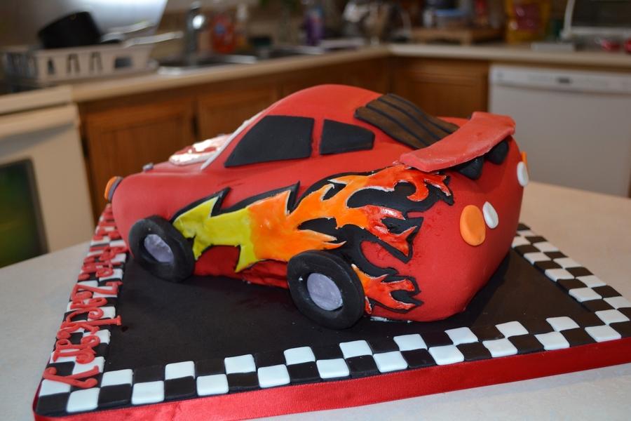Cars Cake Design Red Ribbon Milofi Com For