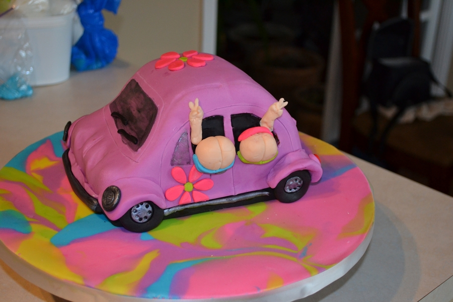 Vw Bug Birthday Cake Cakecentral