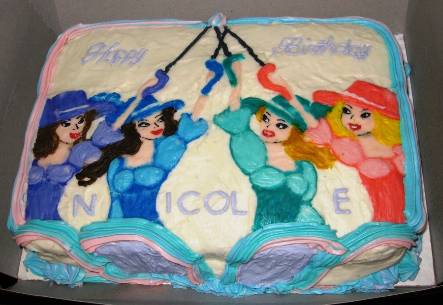 Barbie & The Three Musketeers on Cake Central