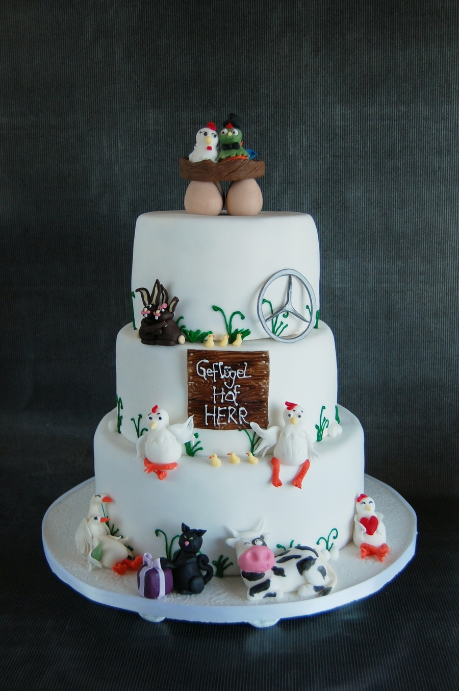 Wedding Cake For A Farmer on Cake Central