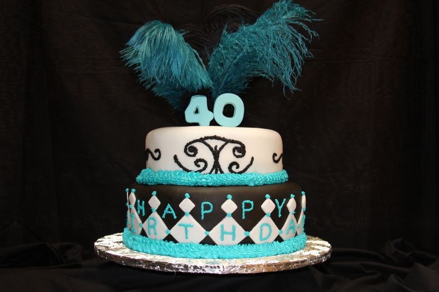 40Th Birthday Celebration on Cake Central