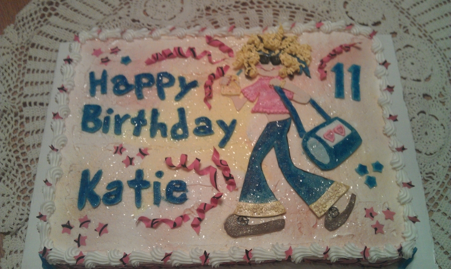 Preteen Birthday Cake on Cake Central