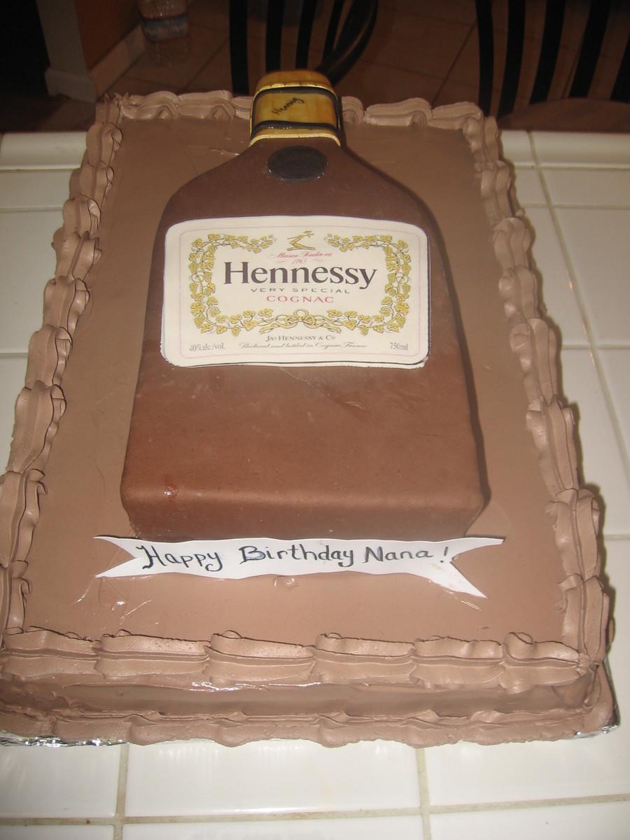 Hennessy Cake Cakecentral Com