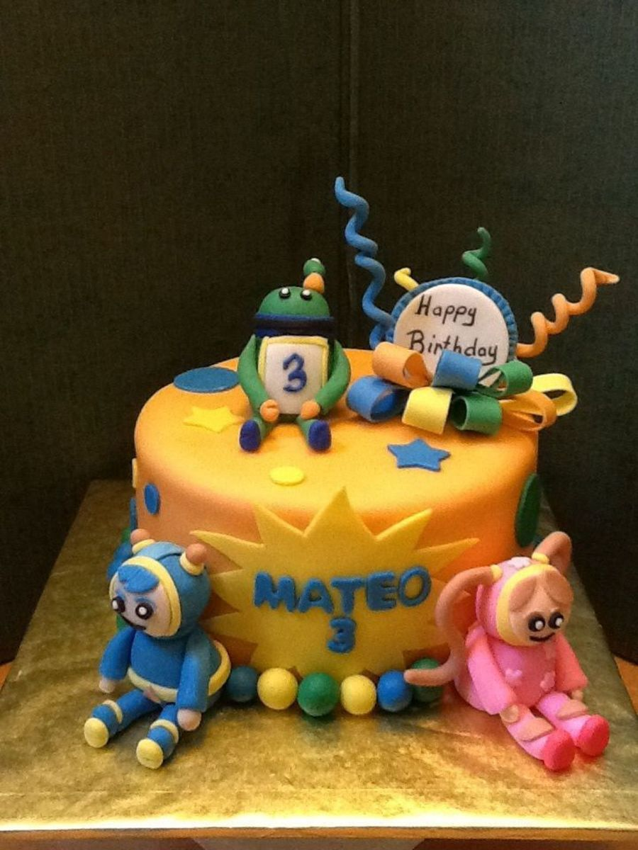 Peachy Team Umizoomi For A 3 Year Old Little Boy Cakecentral Com Personalised Birthday Cards Veneteletsinfo