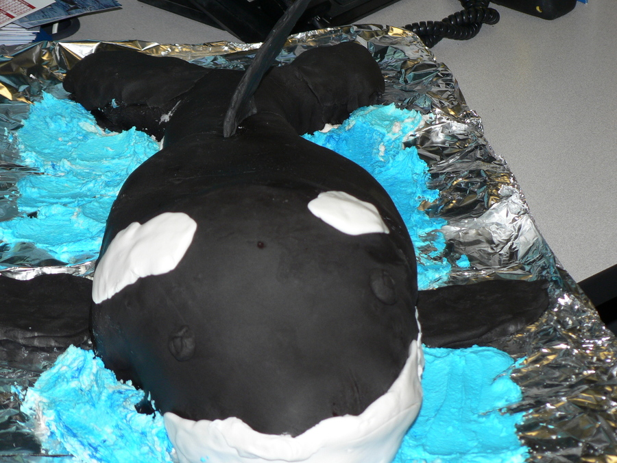 Orca on Cake Central