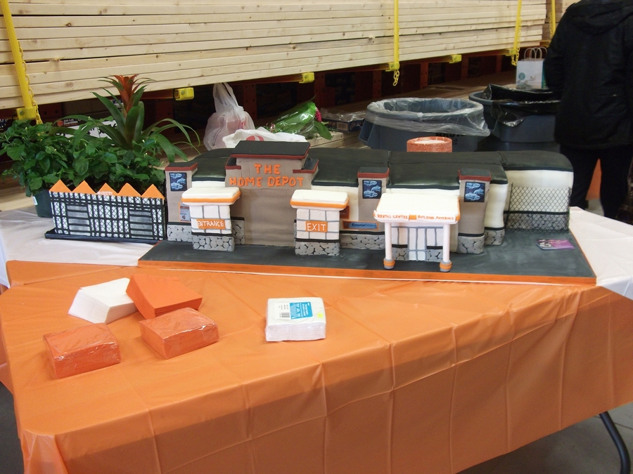 Home Depo Cake on Cake Central