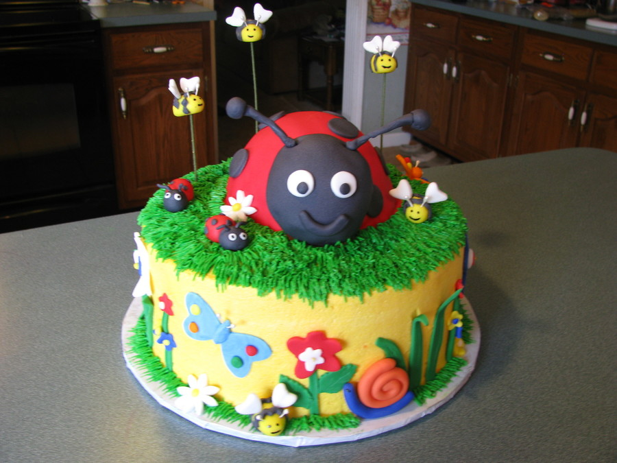 Lady Bug Cake Cakecentral