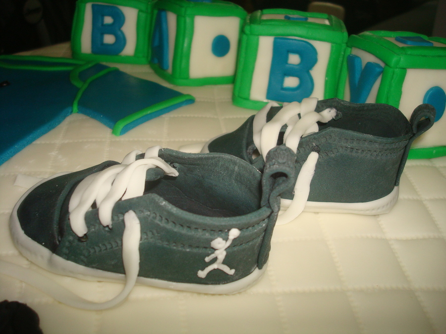 air jordan baby shower