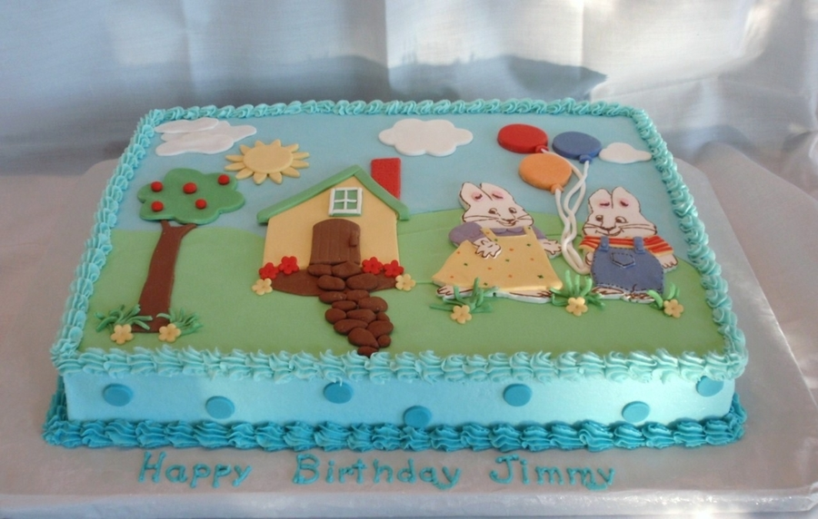Max And Ruby on Cake Central