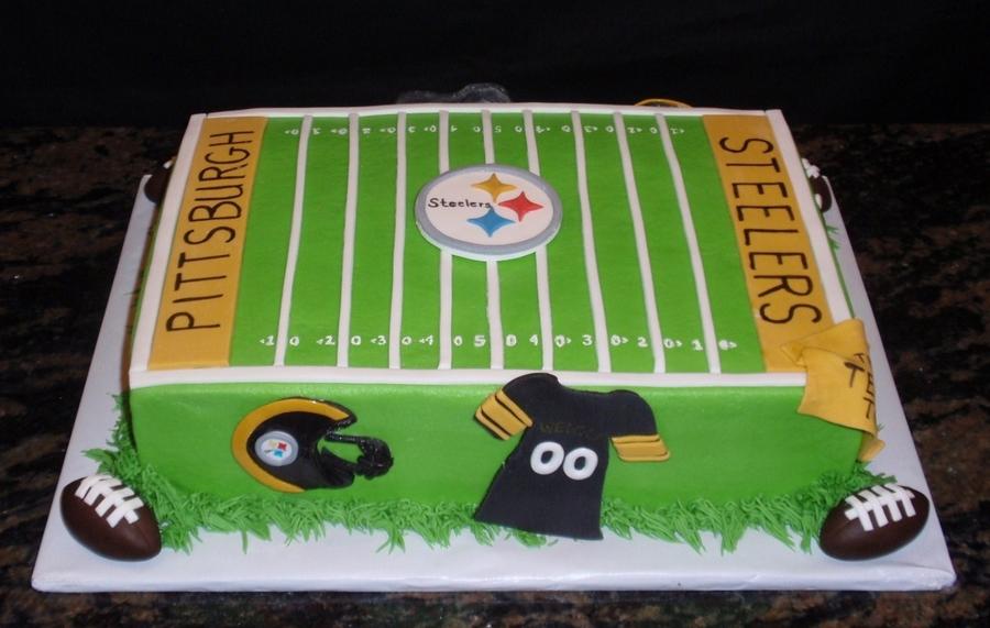 Steelers Cake CakeCentralcom