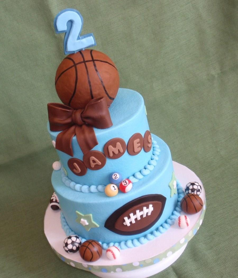 Sports Balls Cake Cakecentral Com