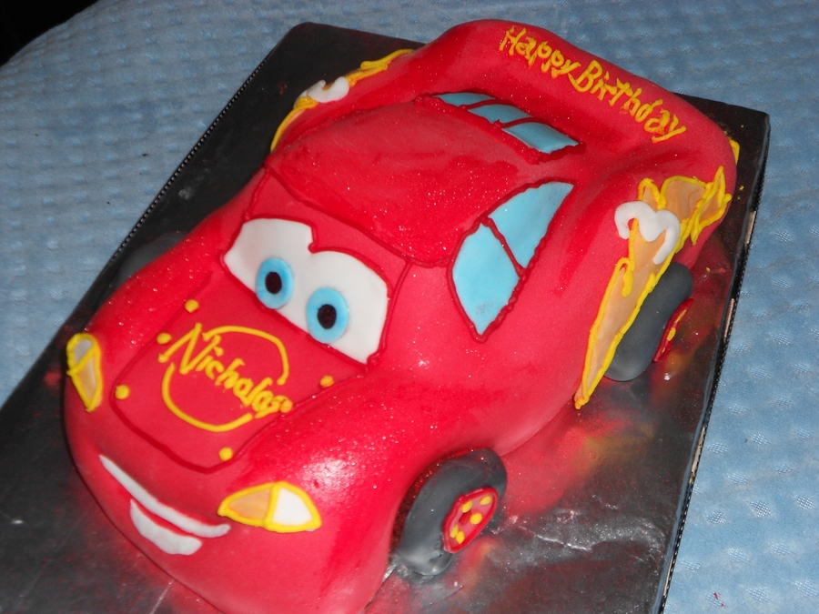 Lightning Mcqueen 3Rd Birthday on Cake Central