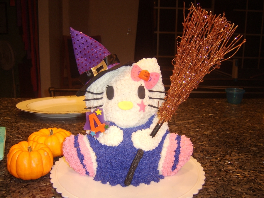 Halloween Hello Kitty on Cake Central