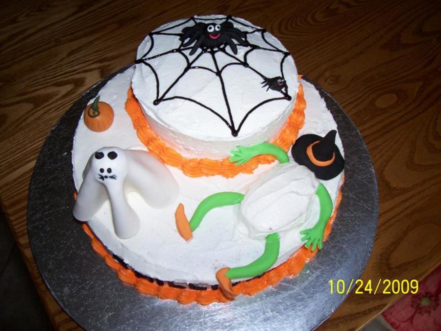 Outstanding Trilliums Halloween Birthday Cake Cakecentral Com Personalised Birthday Cards Veneteletsinfo