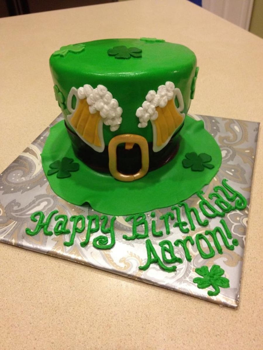 St. Patty's Day Cake on Cake Central