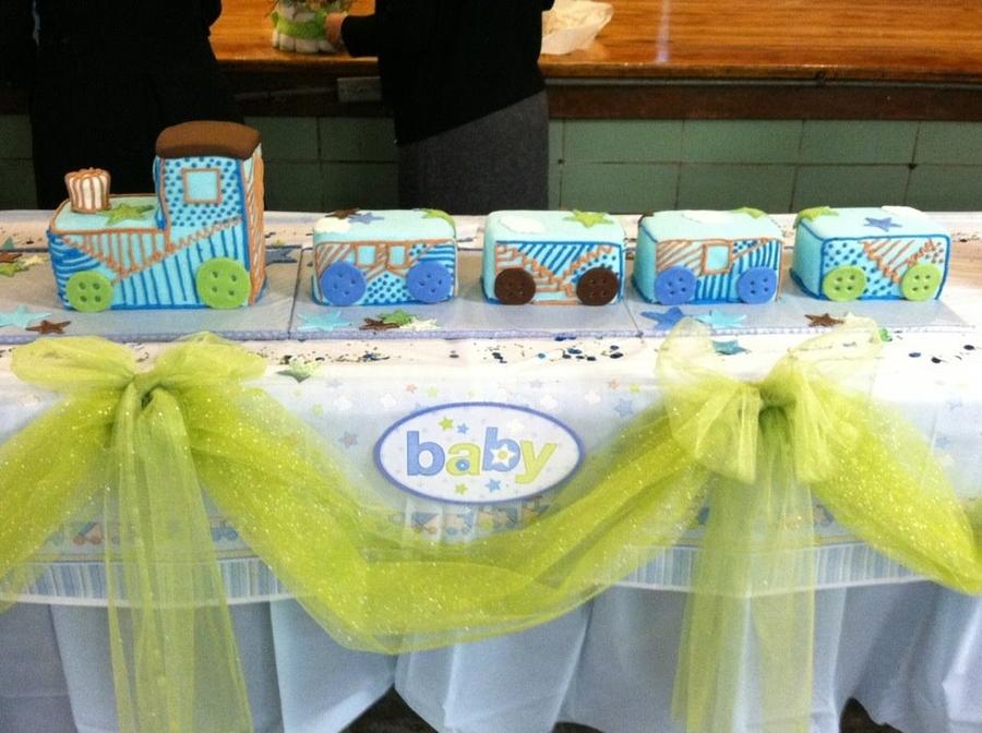 Train Baby Shower Cake Part - 37: Baby-shower · Baby · Theme · Train · Shower · Cake