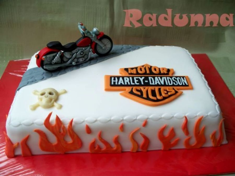 Harley Davidson  on Cake Central