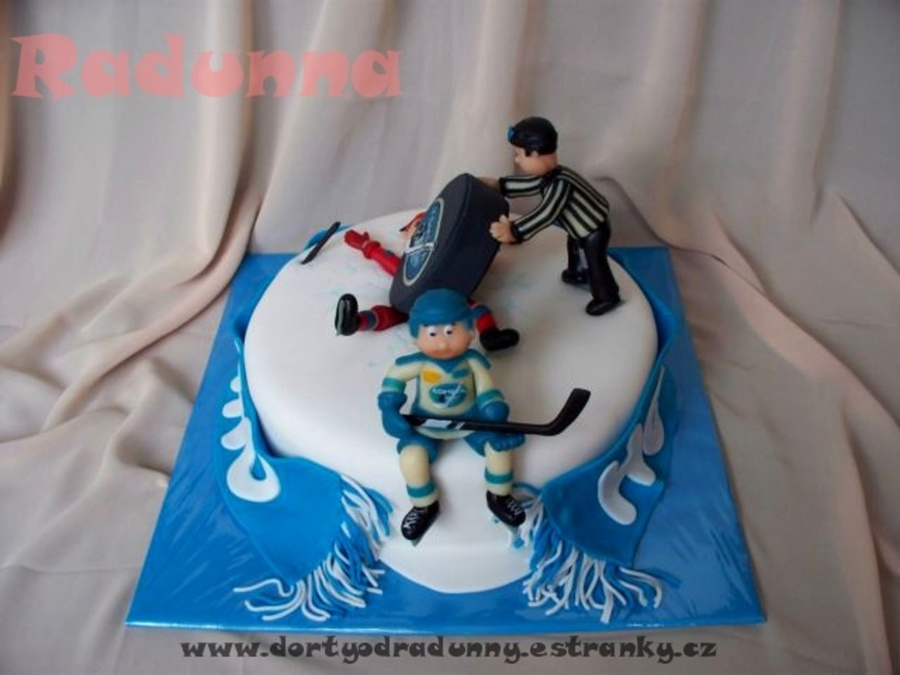 Ice Hockey on Cake Central