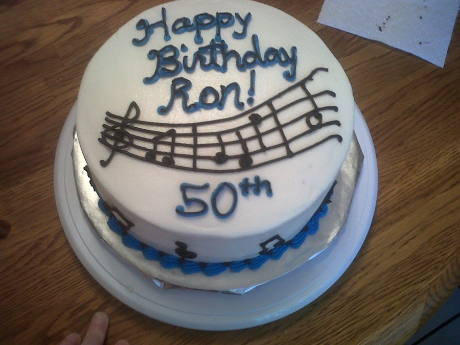 Music Note Birthday Cake Cakecentral