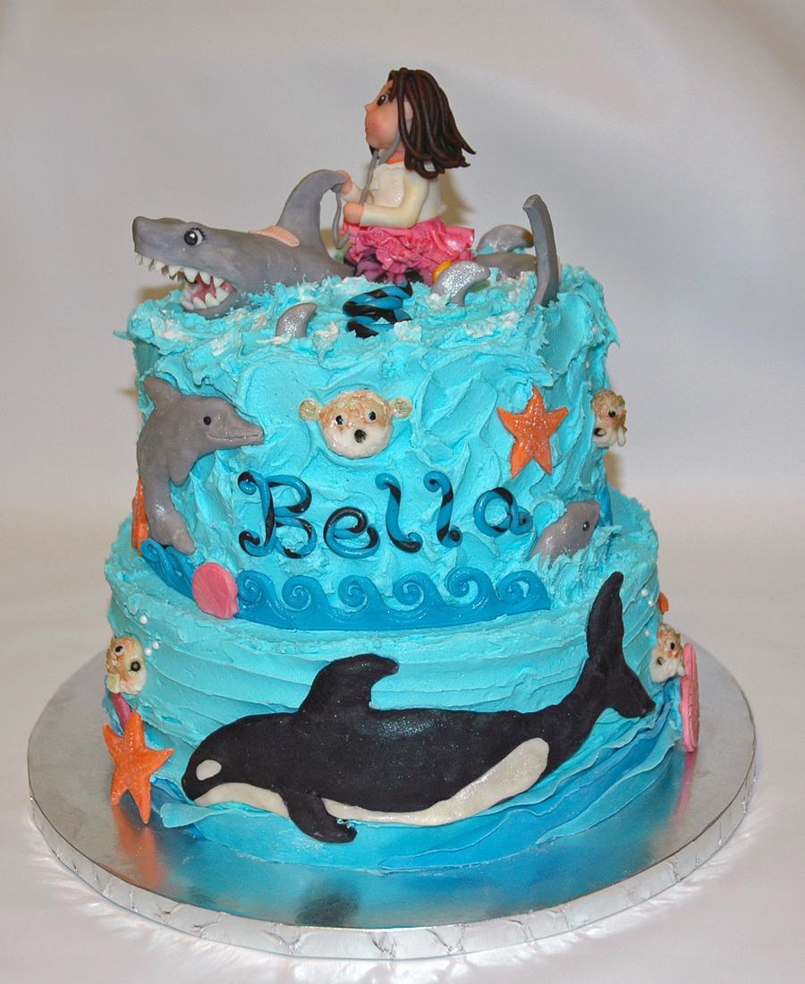 Marine Biologist Cake Cakecentral