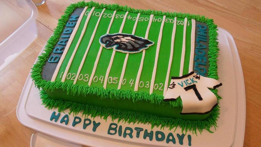 Pleasant Philadelphia Eagles Cakecentral Com Funny Birthday Cards Online Overcheapnameinfo