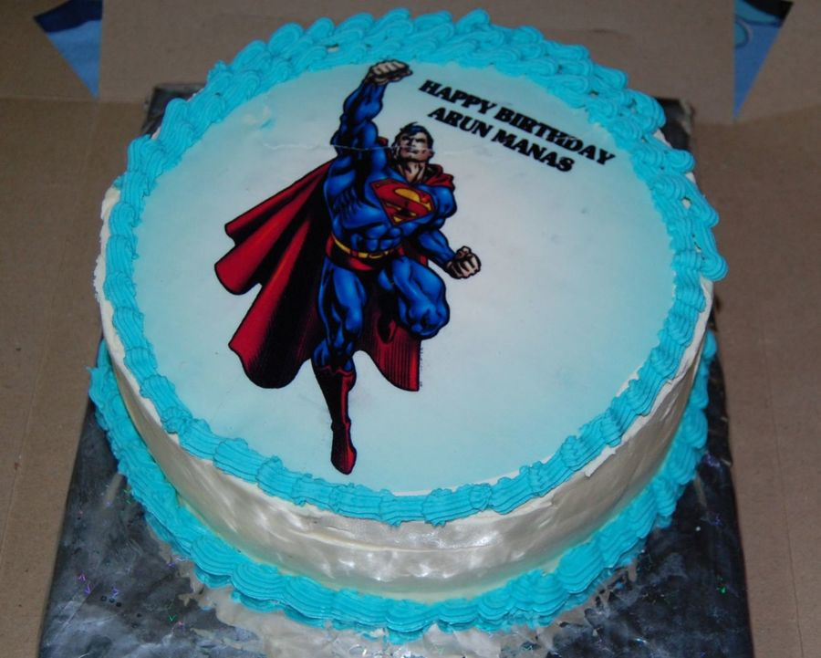 Superman Cake on Cake Central
