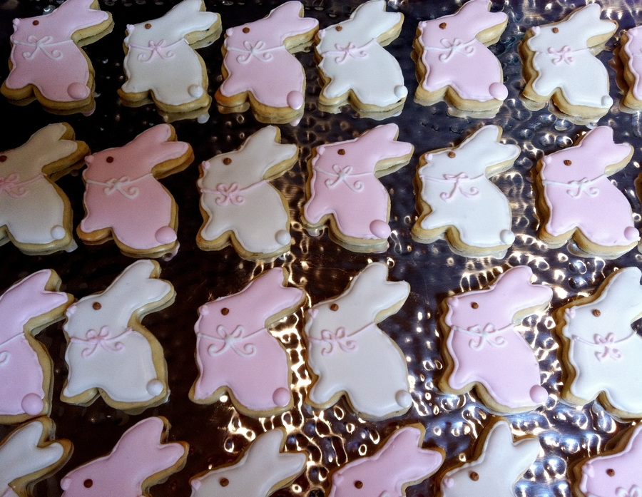 Bunny Cookies on Cake Central