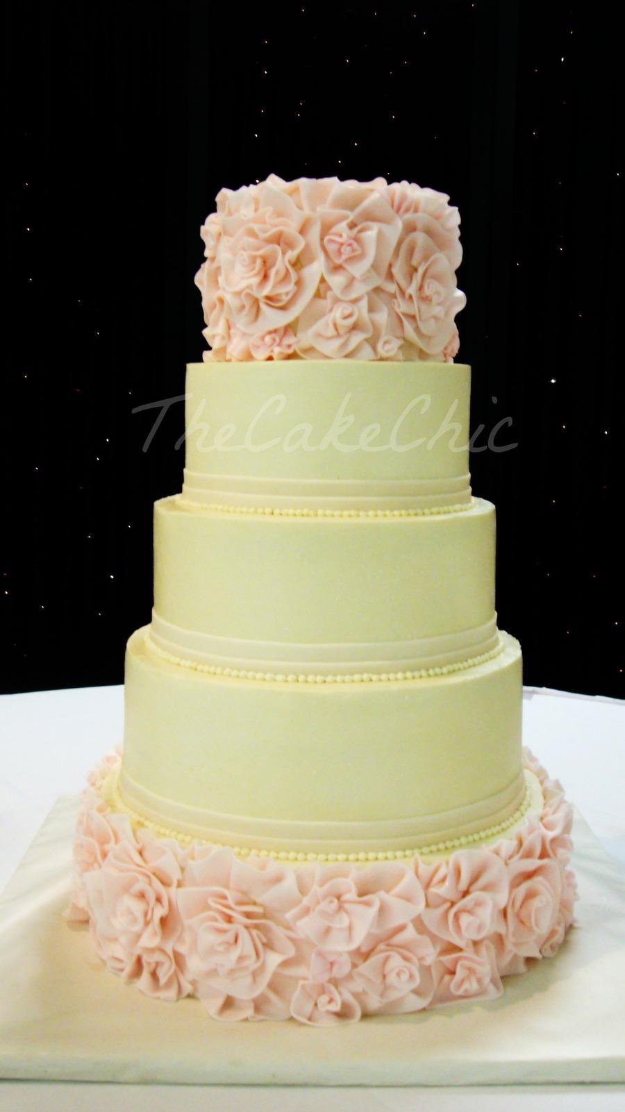 Vanilla Cream Filling For Wedding Cake