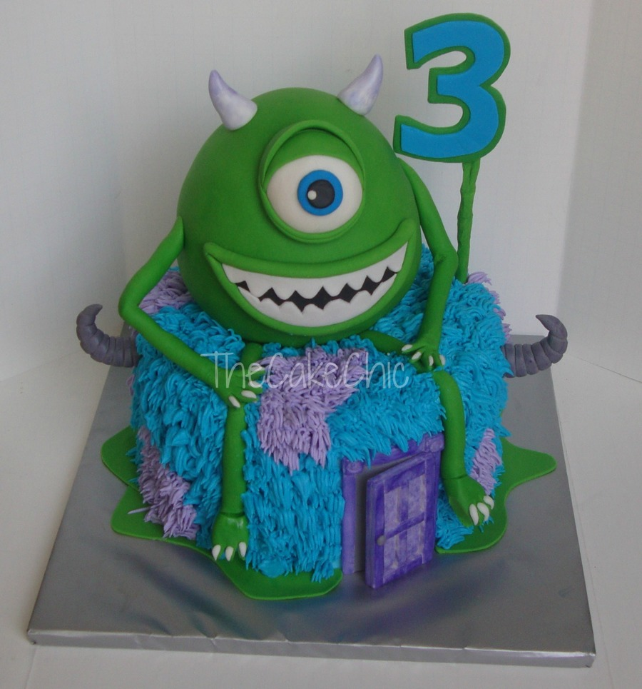 Monster's Inc on Cake Central