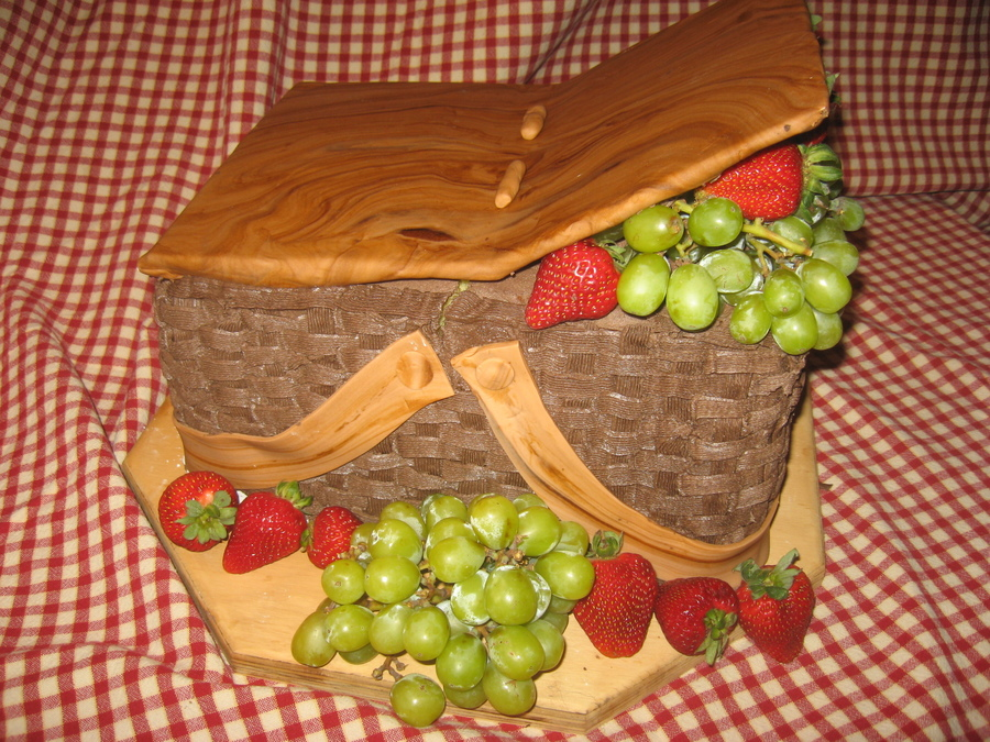 Picnic Basket on Cake Central