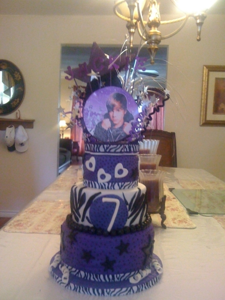 Justin Bieber Birthday Cake on Cake Central