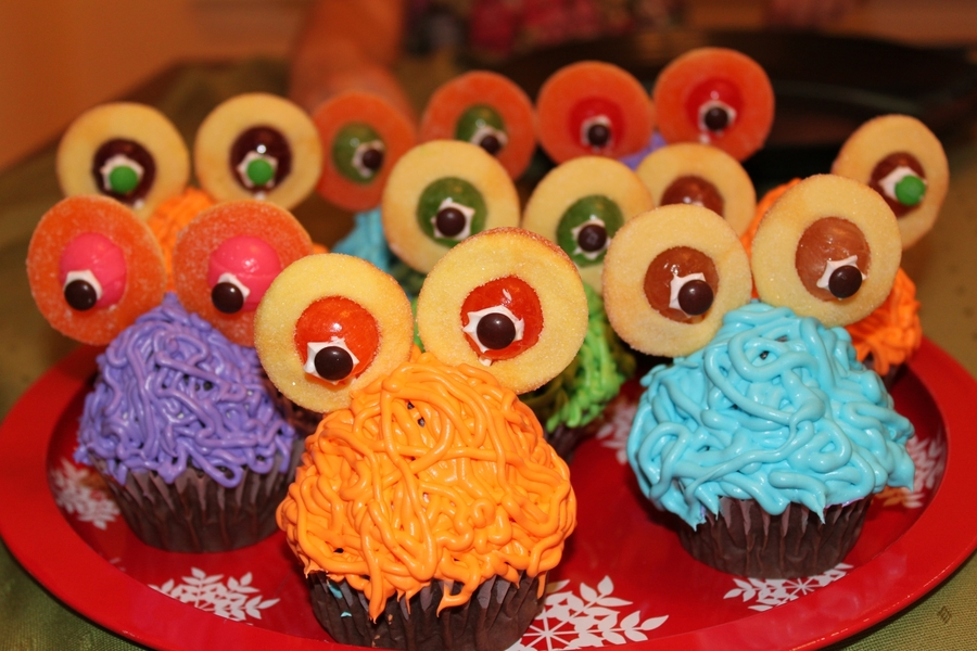 Monster Cupcakes on Cake Central