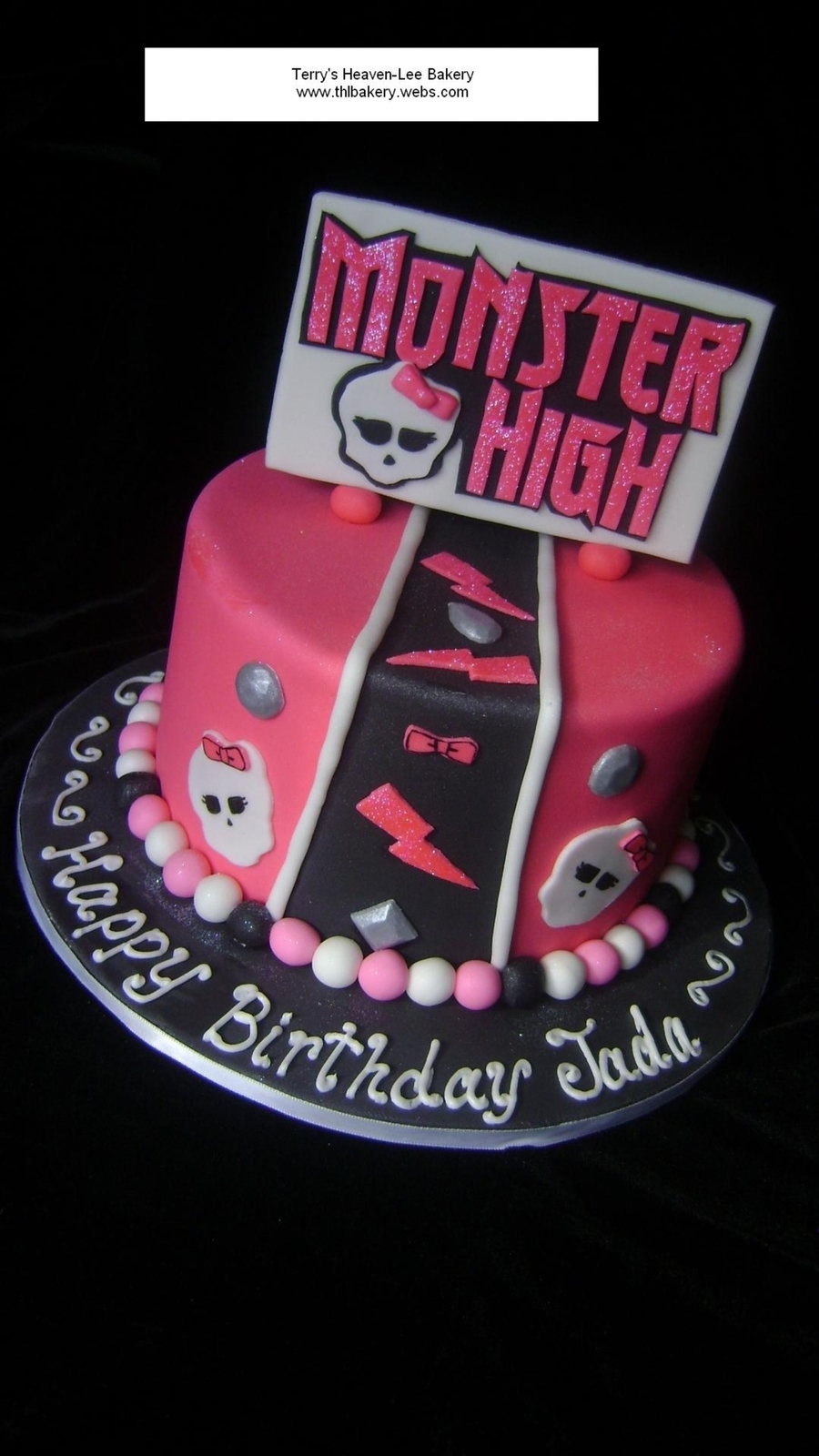Monster High Theme on Cake Central